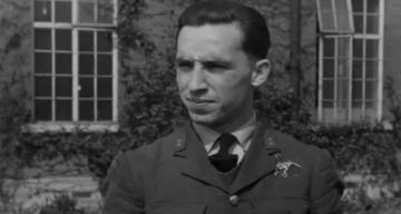 Grafika przedstawiająca Franciszka Kornickiego, którego Royal Air Force uhonorowało.