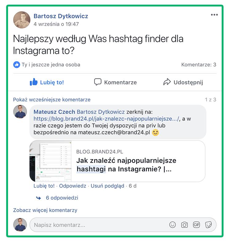 Social selling na przykładzie Brand24