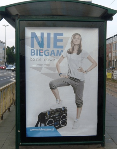 Billboard reklamowy kampanii teaserowej marki Stoperan.