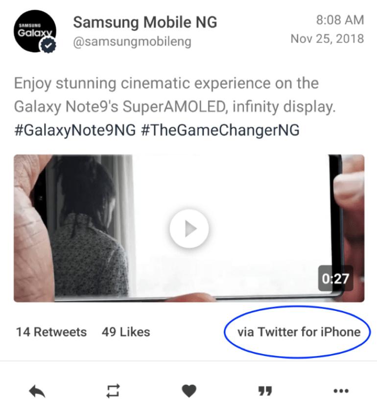 Kryzysy w social media - przykład Samsunga