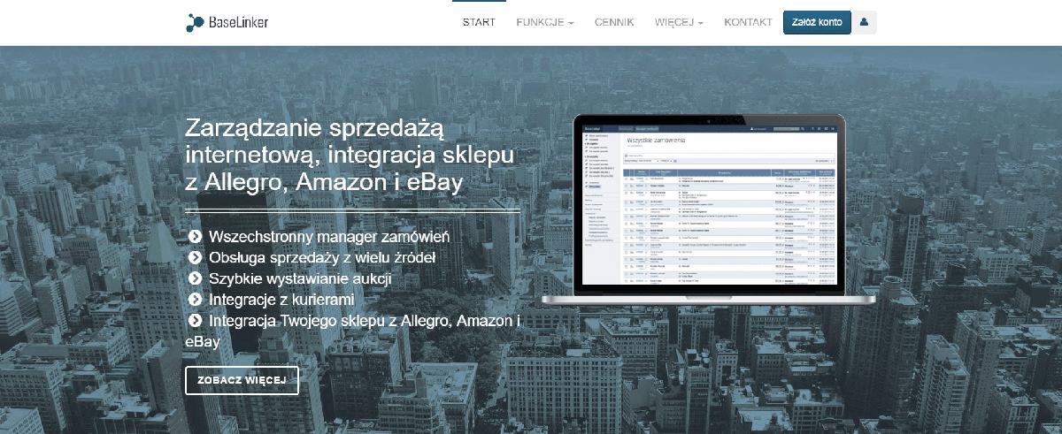 Narzędzia e-commerce jako wsparcie sprzedaży online - przykład BaseLinker