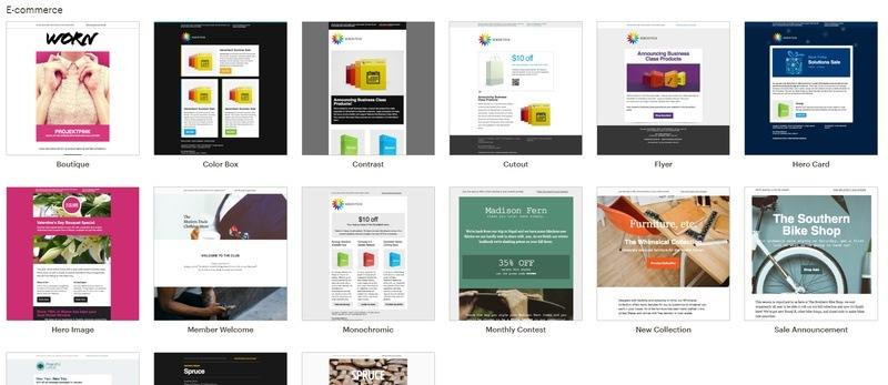 Narzędzia e-commerce jako wsparcie sprzedaży online - przykład Mailchimp
