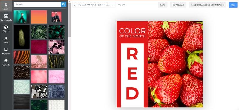 Promocja firmy w Internecie - grafika przedstawiająca kreator tworzenia postów w PromoRebublic